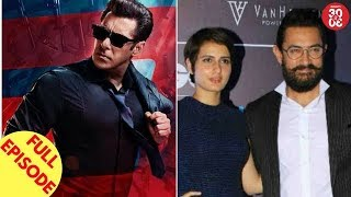 Salman Shoots Action Scenes For 'Race 3' | Aamir To Do A Kissing Scene With Fatima & More - ZOOMDEKHO