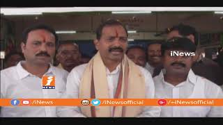 MLA Gopireddy Srinivasa Reddy Support To YS Jagan Over Cross 3000K.M Of Praja Sankalpa Yatra| iNews - INEWS