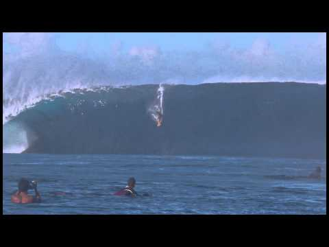 Tikanui Smith at Teahupoo - 2014 Ride of the Year Entry - Billabong XXL Big Wave Awards