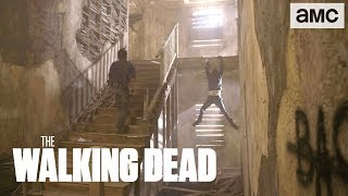 'Rick & Negan's Epic Fight' Behind the Scenes Ep. 812 | The Walking Dead - AMC