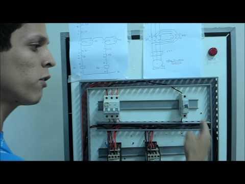 Comandos Elétricos Aula Prática Partida Direta com Reversão Intertravamento # 1 Jadson Caetano