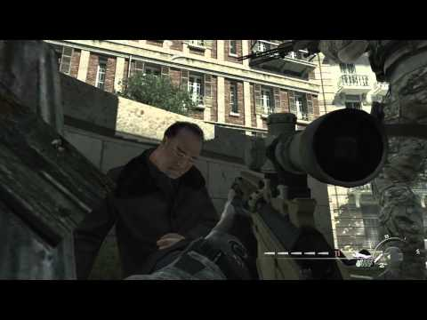 "Mw3 Campaign ""Iron Lady"" Veteran Walkthrough Act 2 Mission 4"
