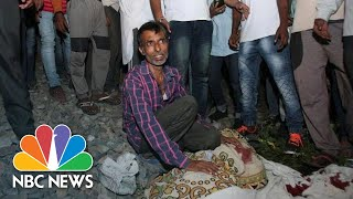 Dozens Killed By Speeding Train In Amritsar, India | NBC News - NBCNEWS