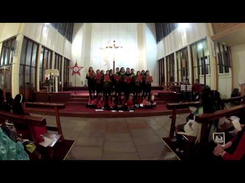 Basildon Filipino Choir singing at International Christmas Carol