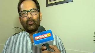 Mukhtar Abbas Naqvi speaks to NewsX on HDK government formation - NEWSXLIVE
