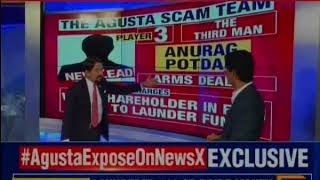 NewsX brings you the new revelation in the 4,700 crore Agusta Westland chopper scam - NEWSXLIVE