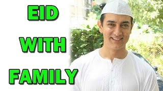 Aamir Khan spends EID with his mother - EXCLUSIVE