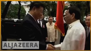🇵🇭🇨🇳Filipinos protest against Duterte's new China deals l Al Jazeera English - ALJAZEERAENGLISH