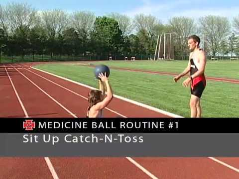 Learn a Medicine Ball Routine Designed for Distance Runners! - Track 2015 #45