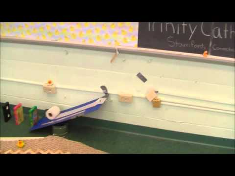 Rube Goldberg Mighty Rubber Ducks Machine Run Video 2013