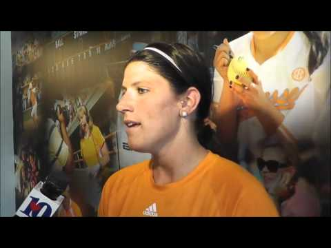 Tennessee Softball Media Availability - Melissa Davin (4/23/14)