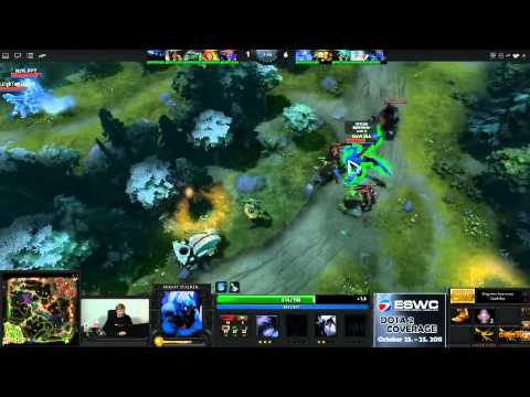Dota 2 - ESWC Grand Final - Na'Vi vs EHOME - Game 2