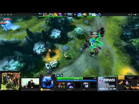 Dota 2 - ESWC Grand Final - Na'Vi vs EHOME - Game 2