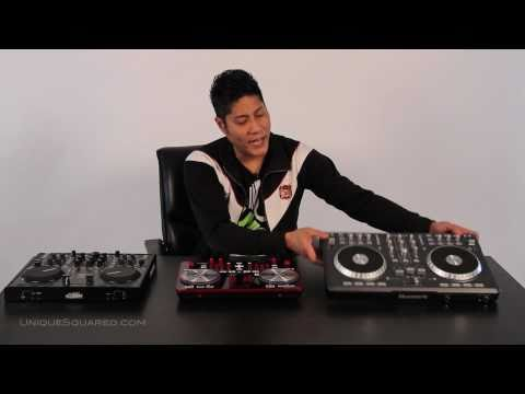 Numark Mixtrack Pro vs. Vestax Typhoon vs. Reloop Digital Jockey 2 | UniqueSquared.com