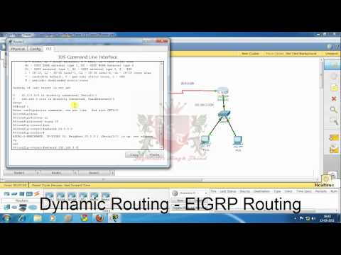 Dynamic Routing Configuring EIGRP in Hindi