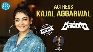 Actress Kajal Aggarwal Exclusive Interview || Ranarangam Movie || Talking Movies With iDream - IDREAMMOVIES