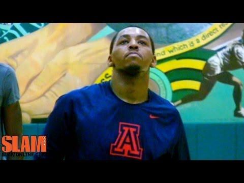 Mark Lyons 2013 NBA Draft Workout - Arizona Wildcats Basketball - Point Guard U