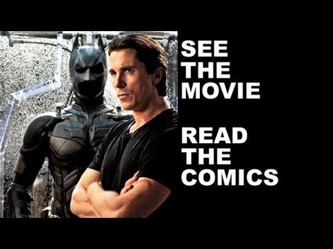 The Dark Knight Rises - Comics Review!  See The Dark Knight Rises 2012, read the DC Comics!