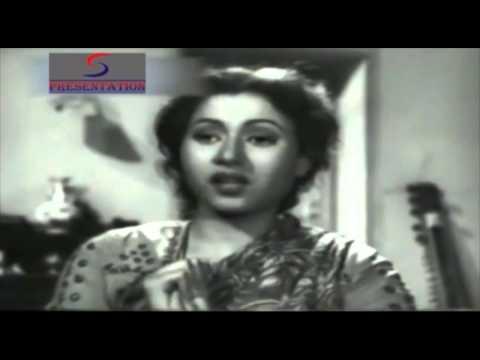 Gore Chand Se Matwale Nainon Wale - Lata Mangeshkar - BEQASOOR - Ajit, Madhubala, Pramila, Yakub.