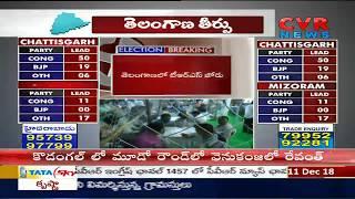జానా, గీతారెడ్డి, కోమటిరెడ్డి..ఓటమిబాటలో ... | TRS Lead in Telangana | CVR News - CVRNEWSOFFICIAL
