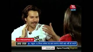 Hit Machine! Varun Dhawan Opens Up About His Film Journey So Far   Seedhi Baat With Sweta Singh - AAJTAKTV
