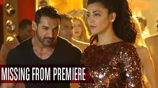 John Abraham and Shruti Haasan MISSING from 'Welcome Back' Premiere | Bollywood News