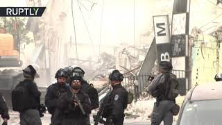 Israeli forces demolish dozens of Palestinian-owned shops in East Jerusalem - RUSSIATODAY