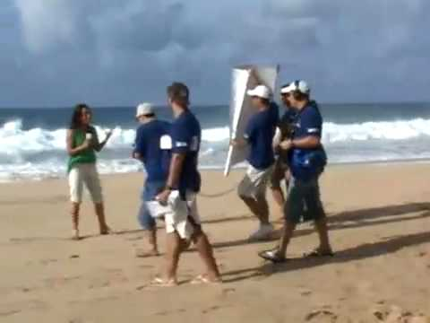 Making of do Programa Nas Ondas de Noronha