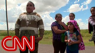 CNN films border patrol detaining 4 children, 2 adults - CNN