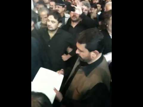4th moharram 2012 Najaf e Ashraf sayed Sibtain shah party