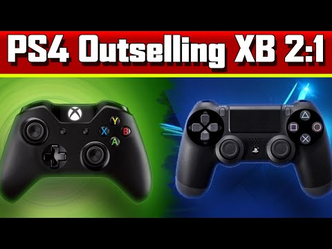 PS4 Sales Beat Xbox One 2:1 ★  PC vs Consoles Sales - Ubisoft