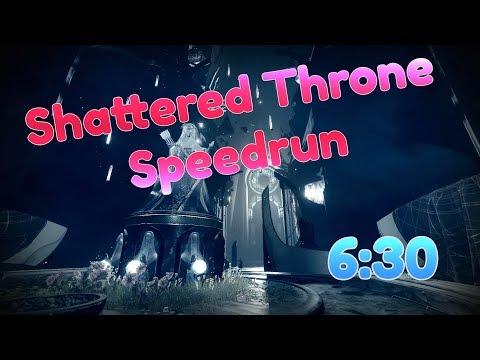 Shattered Throne Speedrun