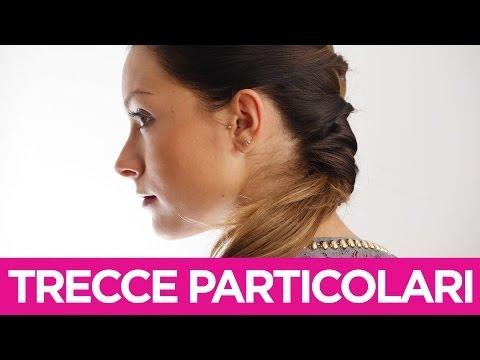 Come fare delle trecce particolari ai capelli | Le Acconciature fai-da-te di Elisa | Video Tutorial