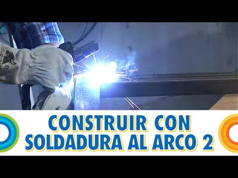 Construir banco con soldadura al arco (2 de 5) -  BricocrackTV