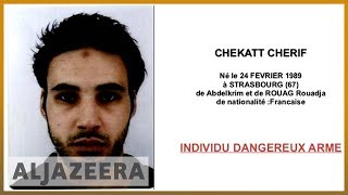 🇫🇷French authorities issue wanted poster for Strasbourg attacker | Al Jazeera English - ALJAZEERAENGLISH