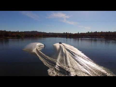 Drone waterski video from 11-05-16 v1 by AerialExtreme.com