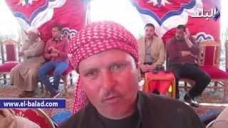 بالفيديو.. ابن عم شهيد بسيناء: 'يا سيسى احنا وراك لو مات مننا كل يوم 20 راجل'