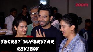 SECRET SUPERSTAR REVIEW | Dangal's Starcast Talks On Aamir Khan's Film - ZOOMDEKHO