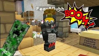 watch the youtube video Minecraft - Mission To Mars - Boomin' Base! [21]