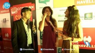 Neetu Chandra Funny Tamil Words@ SIIMA 2014 - Red Carpet - IDREAMMOVIES