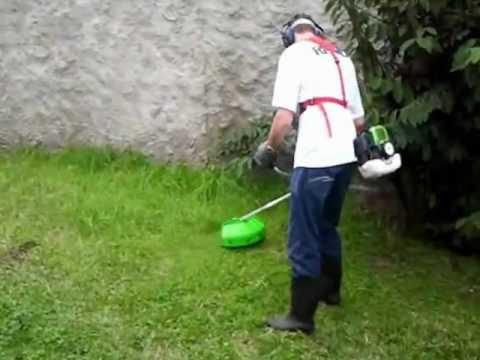Roçadeira a gasolina RINNO - www.rinno.com.br