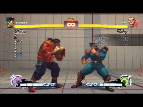 SSF4 AE 2012: FGA Mono's M. Bison (Dictator) Tutorial Part 1