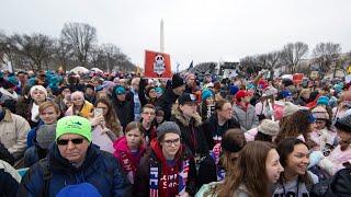 Thousands gather for antiabortion rally in Washington - WASHINGTONPOST