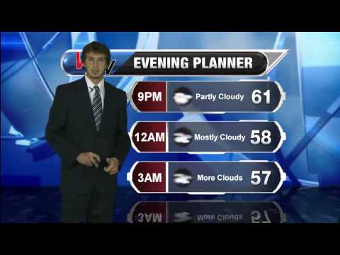 Wednesday Evening Forecast 10/1/14