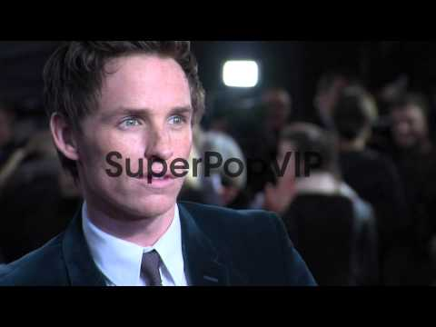 Eddie Redmayne at the World Premiere of Les Miserables at...