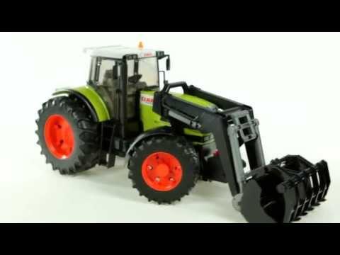 Claas Atles 936 RZ Tractor with Frontloader – Muffin Songs' Oyuncakları Tanıyalım