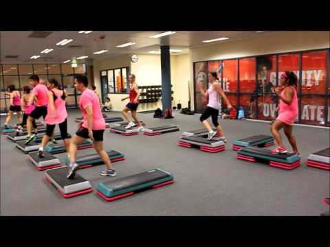 Step Class (Pink theme) @ Sydney, 20 Jan 2013