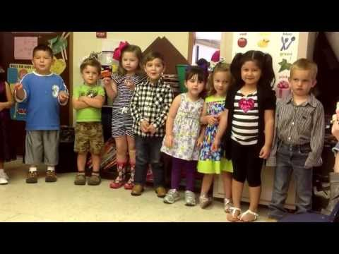 Mrs. Kellie's 3 Year Old Class 2013 - Mother's Day