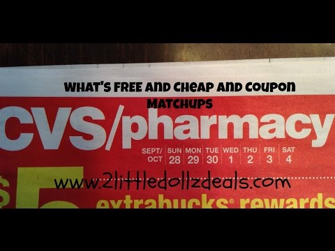 CVS Sales Circular Preview w/ Free and Cheap Items 9/28/14 to 10/4/14