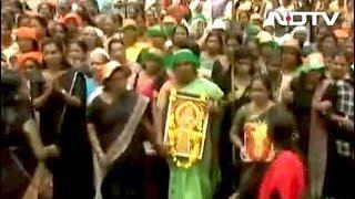 सबरीमाला पर एनडीए का मार्च - NDTVINDIA